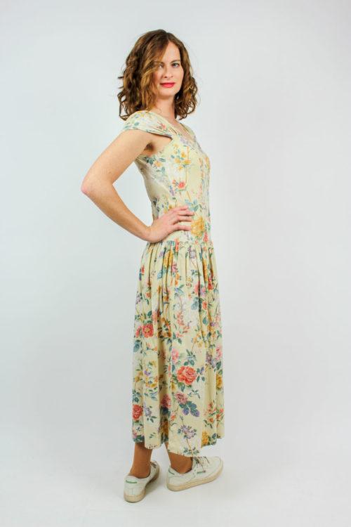 beiges Kleid Secondhand