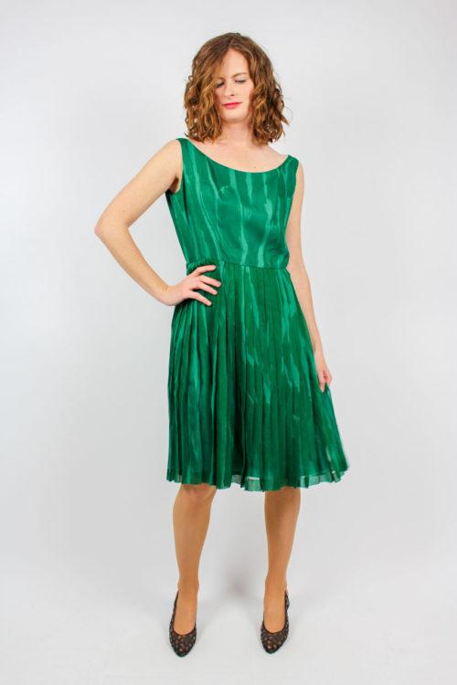 grünes Kleid Secondhand
