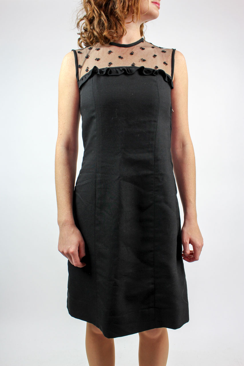"Vintage Kleid schwarz Spitze ""Tilly""   Oma Klara"