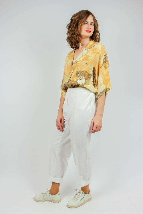 Bluse Leopardenmuster