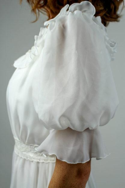 Brautkleid Puffärmel