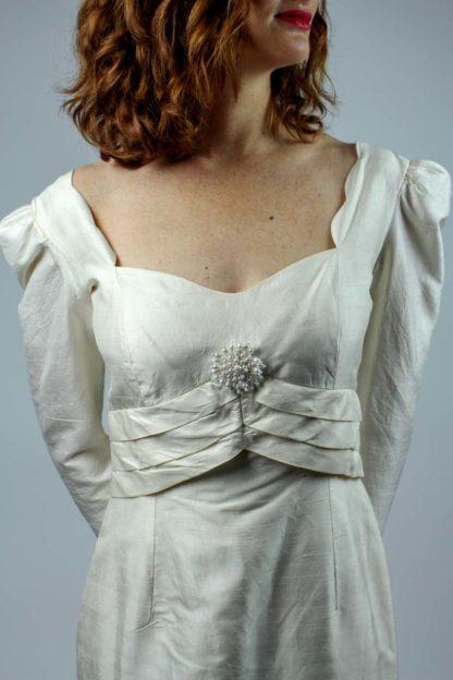 Brautkleid herzförmiger Ausschnitt