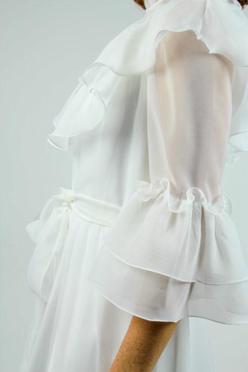 Brautkleid transparend