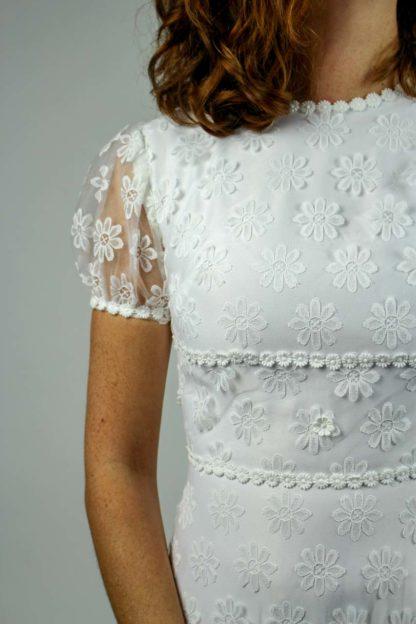 Brautkleid transparent