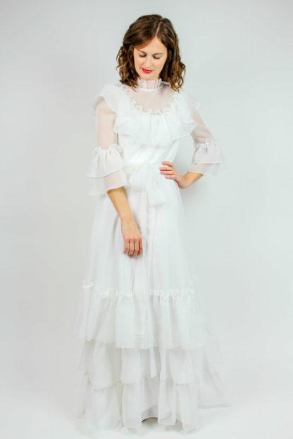 Brautkleid weiß Secondhand