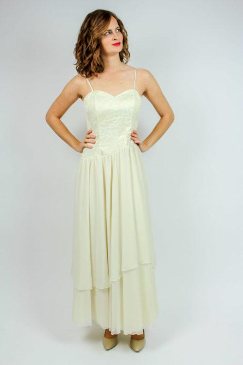 Hochzeitskleid creme