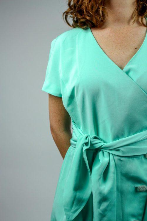 Kleid neonfarben