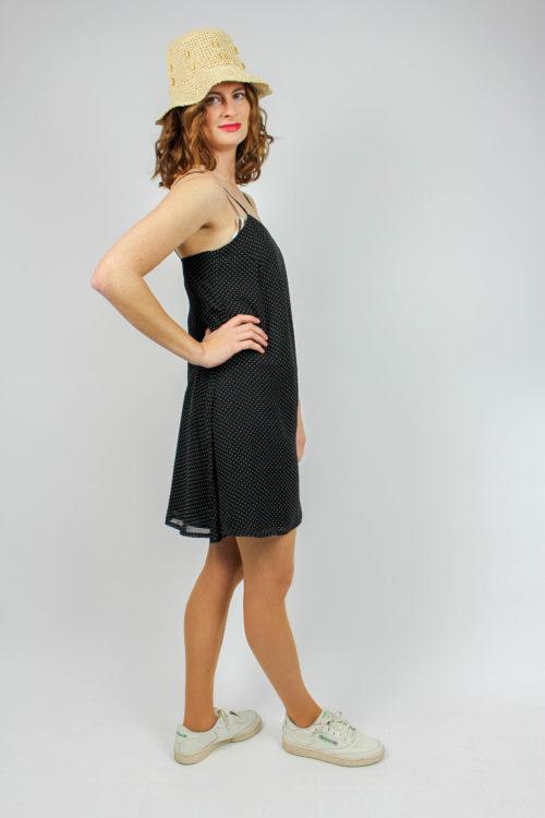 Kleid schwarz Träger