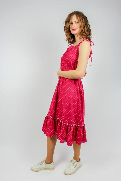 Trägerkleid pink Secondhand