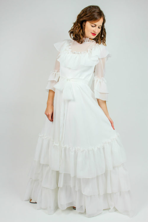 Vintage Brautkleid