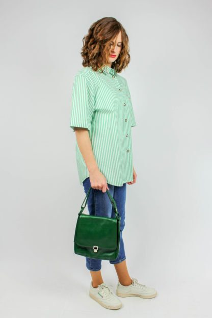 Vintage Tasche grün