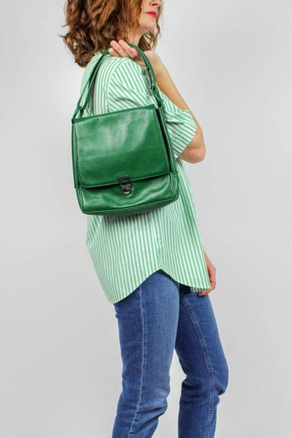 grüne Tasche Secondhand