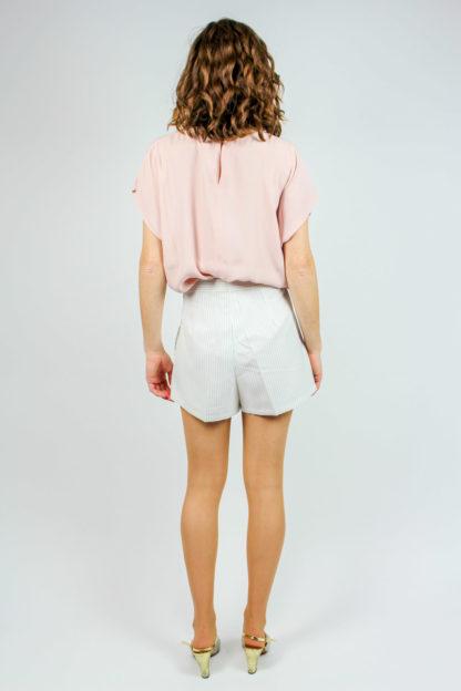 rosa Shirt ärmellos