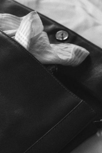 Stofftaschentuch weiß