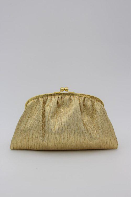 Handtasche goldfarben
