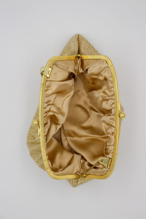 Tasche goldfarben