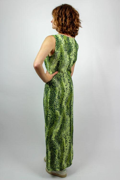 Trägerkleid grün