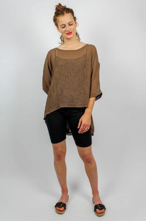 Vintage Shirt braun