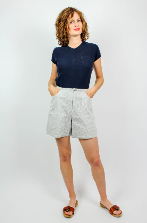 Vintage Short gestreift