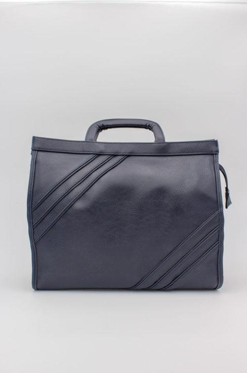 Vintage Tasche dunkelblau