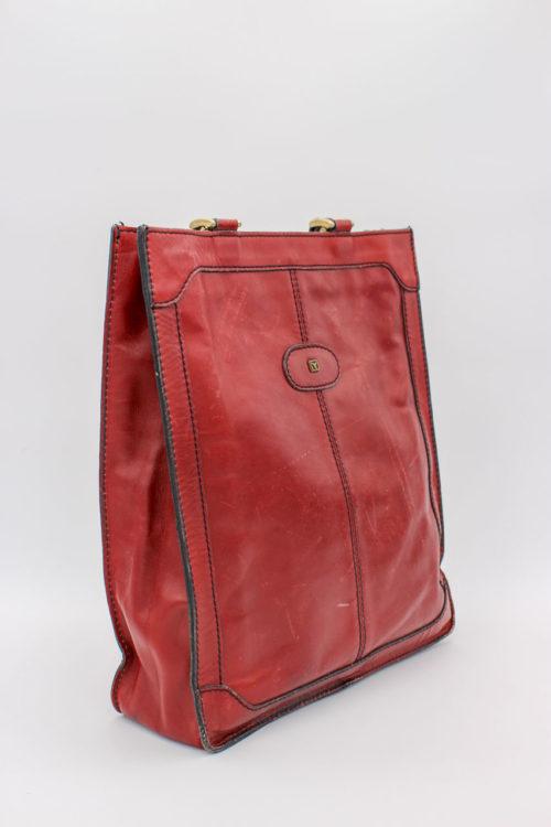 große Handtasche braun