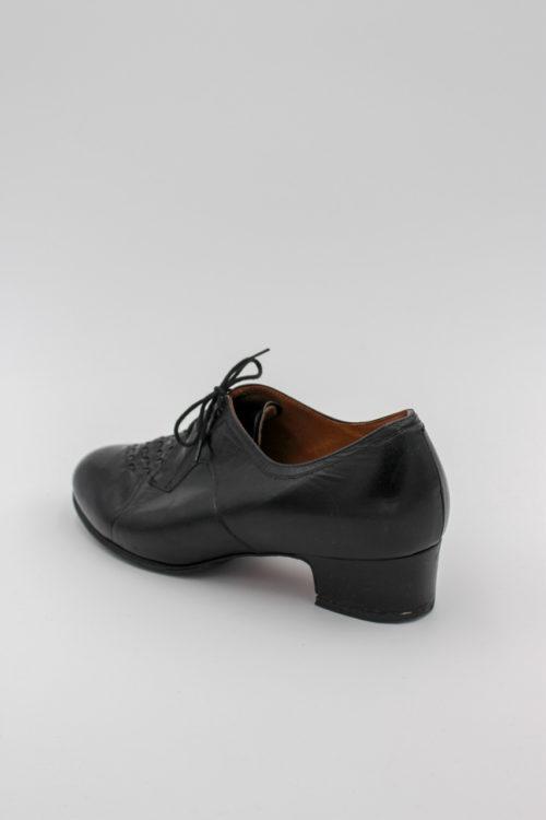 Damen Schnürschuh schwarz