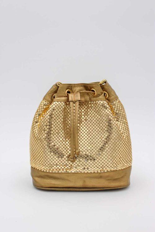 Handtasche gold braun