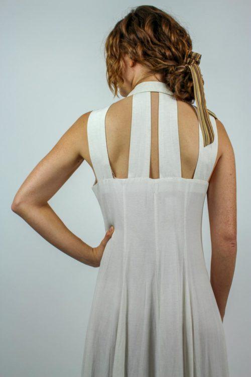 Kleid creme Secondhand