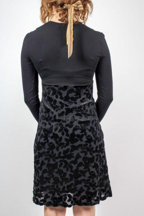 Kleid schwarz A-Linie