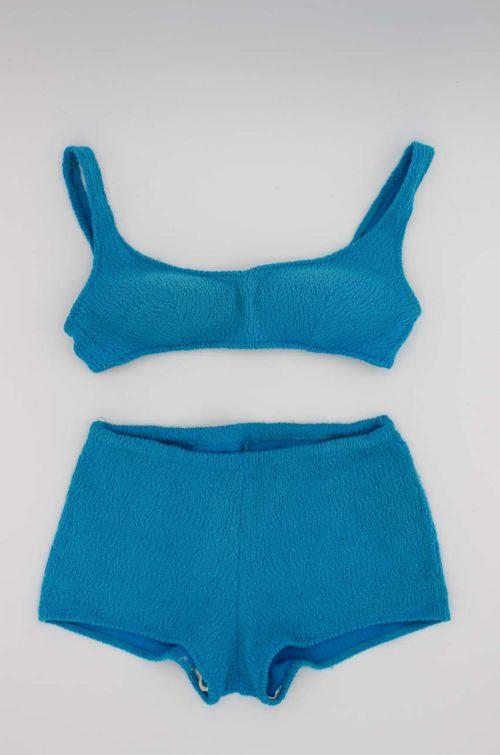 Vintage Bikini blau