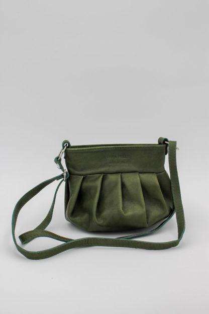 Vintage Handtasche grün