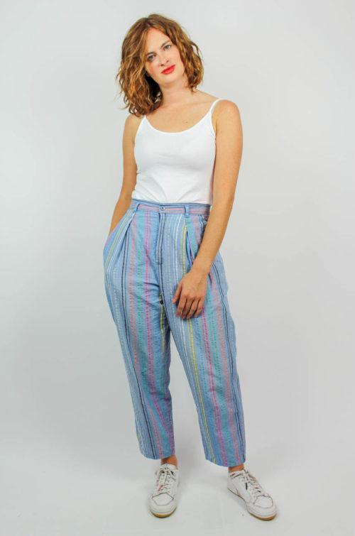 Vintage Hose blau