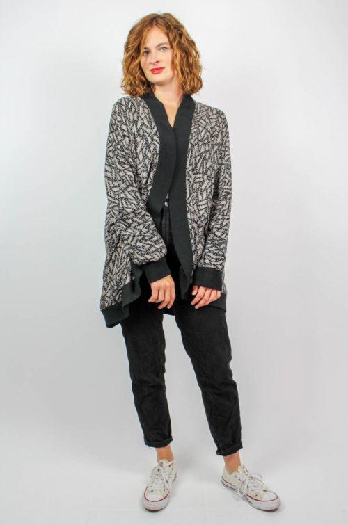 Vintage Jacke schwarz