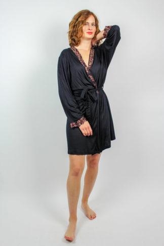 Vintage Kimono schwarz