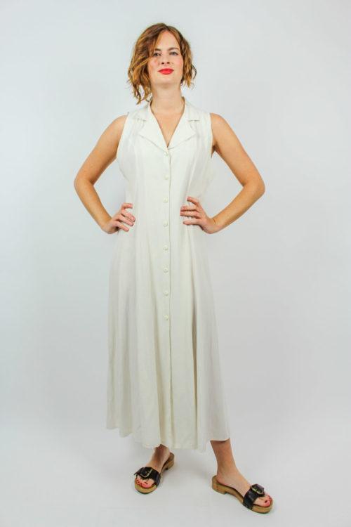 Vintage Kleid creme