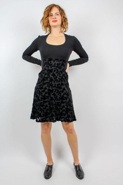 Vintage Kleid schwarz