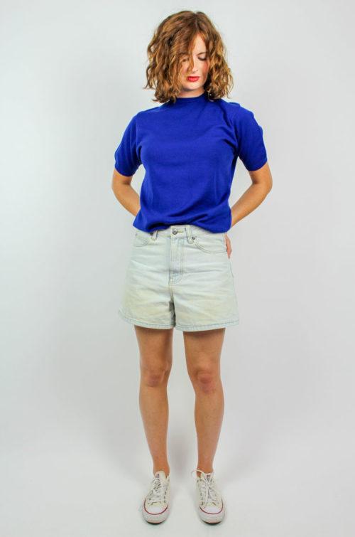 Vintage Shirt blau