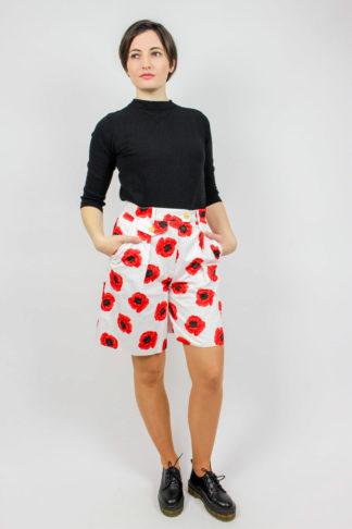 Vintage Shorts Blumen