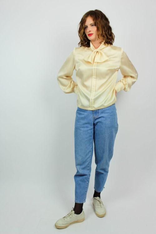 Bluse beige Secondhand