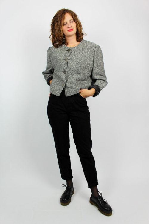 Damenjacke grau