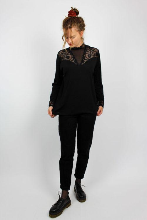 Damenshirt schwarz