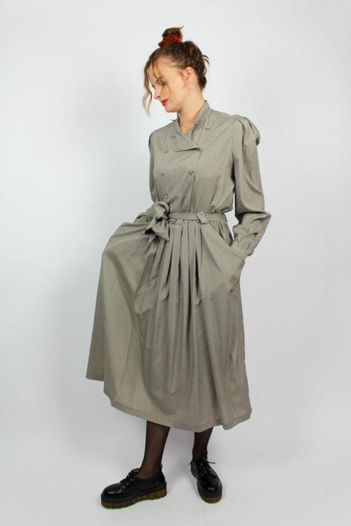 Kleid braun Secondhand