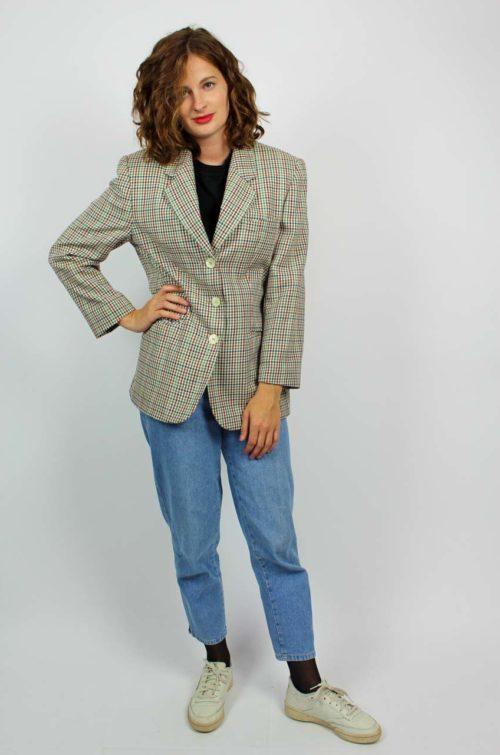 Vintage Blazer kariert