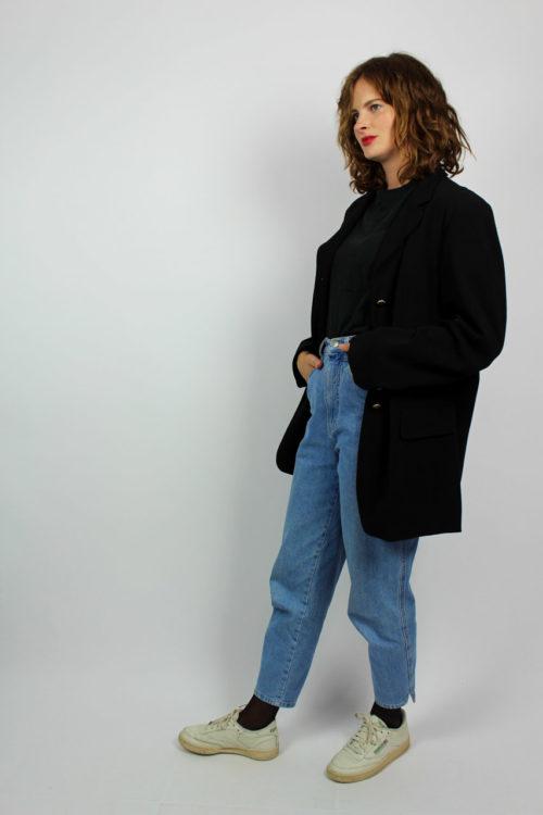 Vintage Blazer schwarz