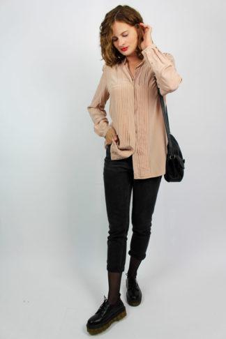 Vintage Bluse rosa
