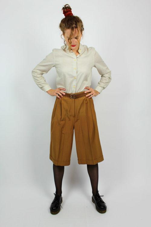 Vintage Culotte braun