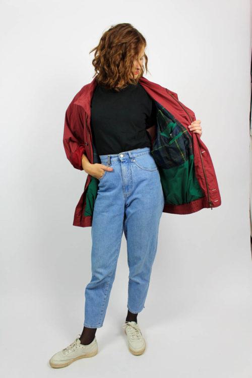 Vintage Jacke Rot
