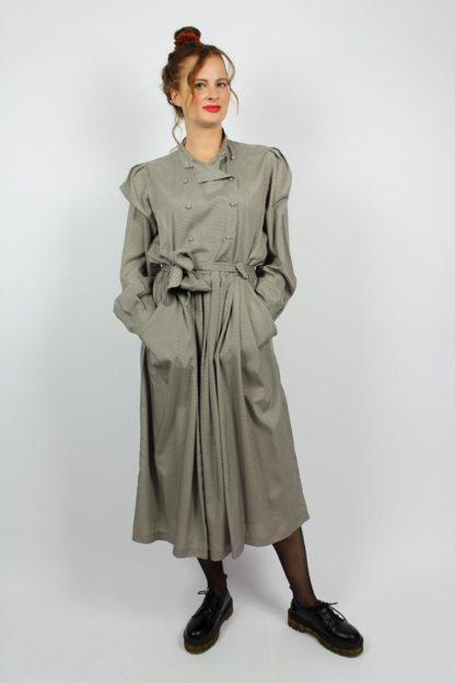 Vintage Kleid kariert