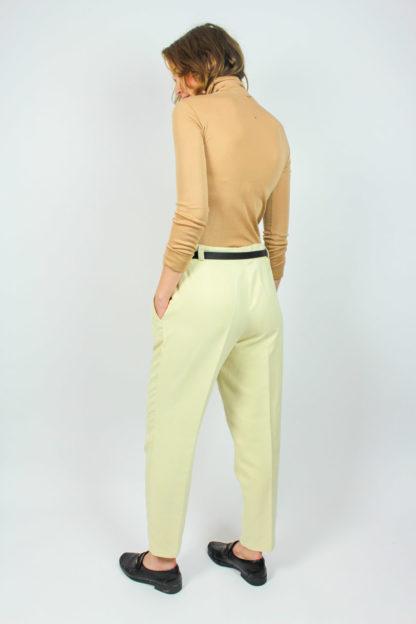 Damenhose beige