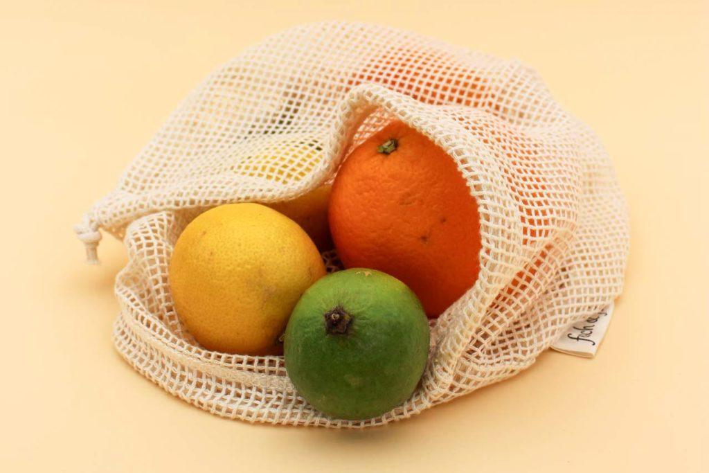 Einkaufsnetze für Obst und Gemüse